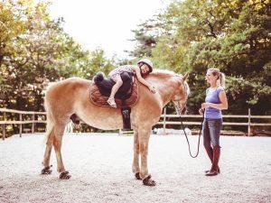 Uppmuntra ditt barns intresse för hästar